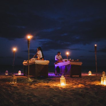 Massage Under the Moonlight